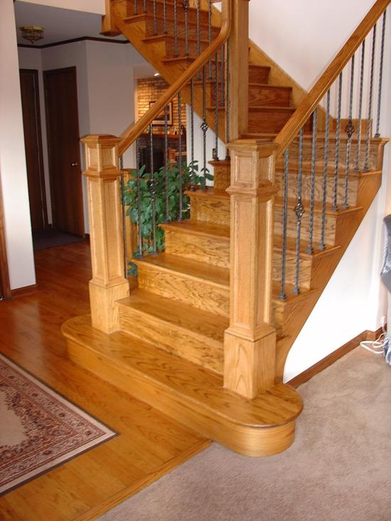 Red Oak Stairways
