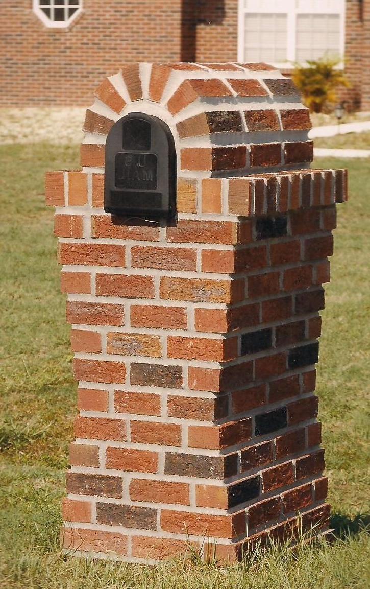 Unique Brick Mailboxes Photos