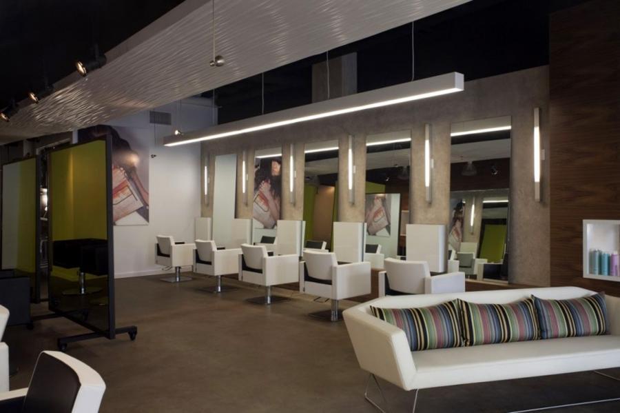 Photo decoration design salon for Salon design moderne