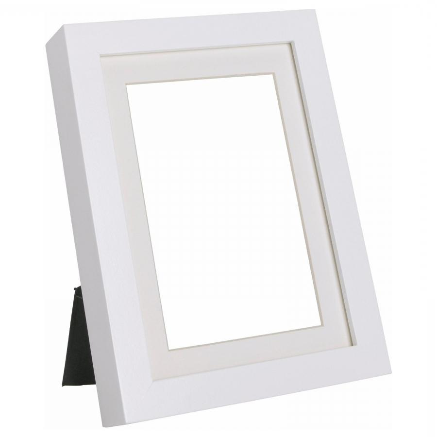 Ikea virserum photo picture frame white wood glass for Ikea picture holder