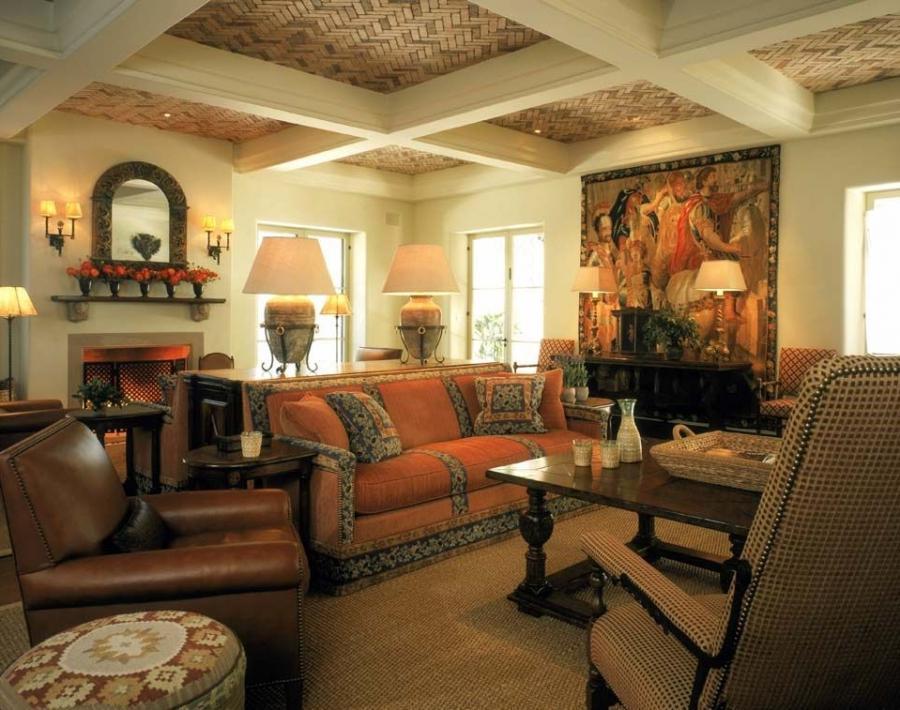 Interior photos of spanish style homes - Interior spanish style homes ...