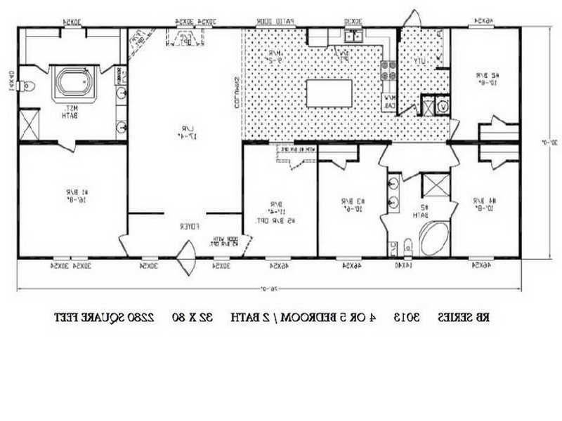 Double Wide Floor Plans Photos