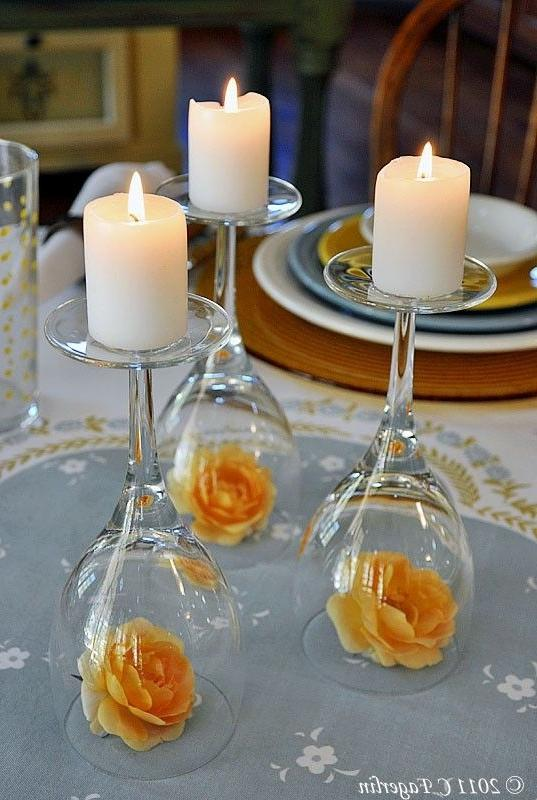Candle centerpieces photos for Decor 4 hire