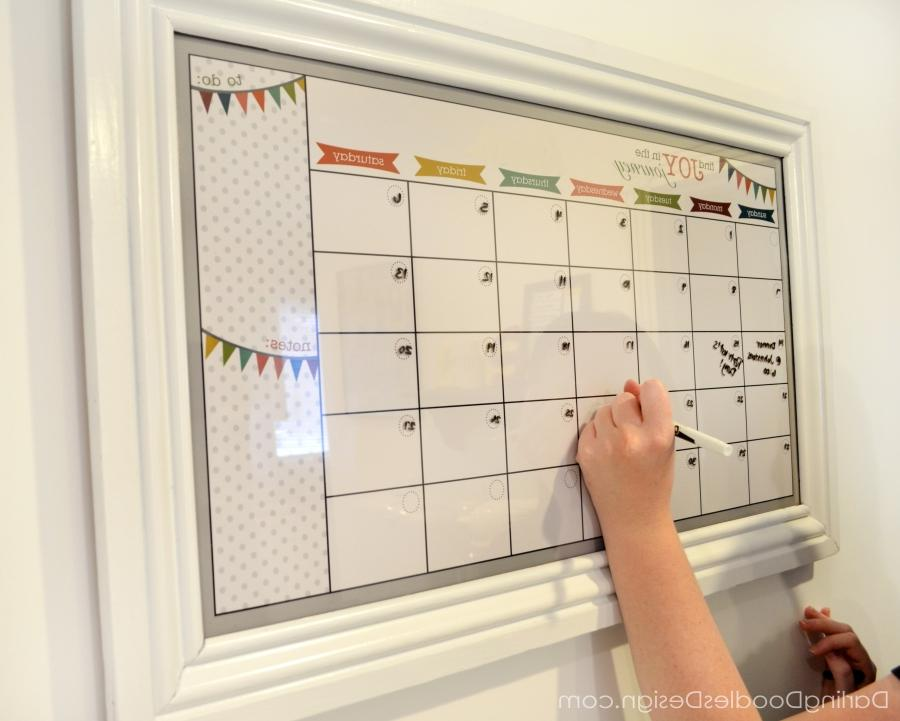 Diy Kitchen Calendar : Photo kitchen calendars
