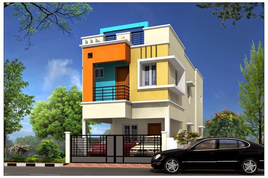 Individual houses for sale in chennai with photos for Individual house models in chennai
