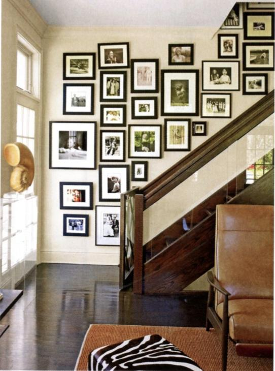 If you have a wide enough hallway or passage you can create a...