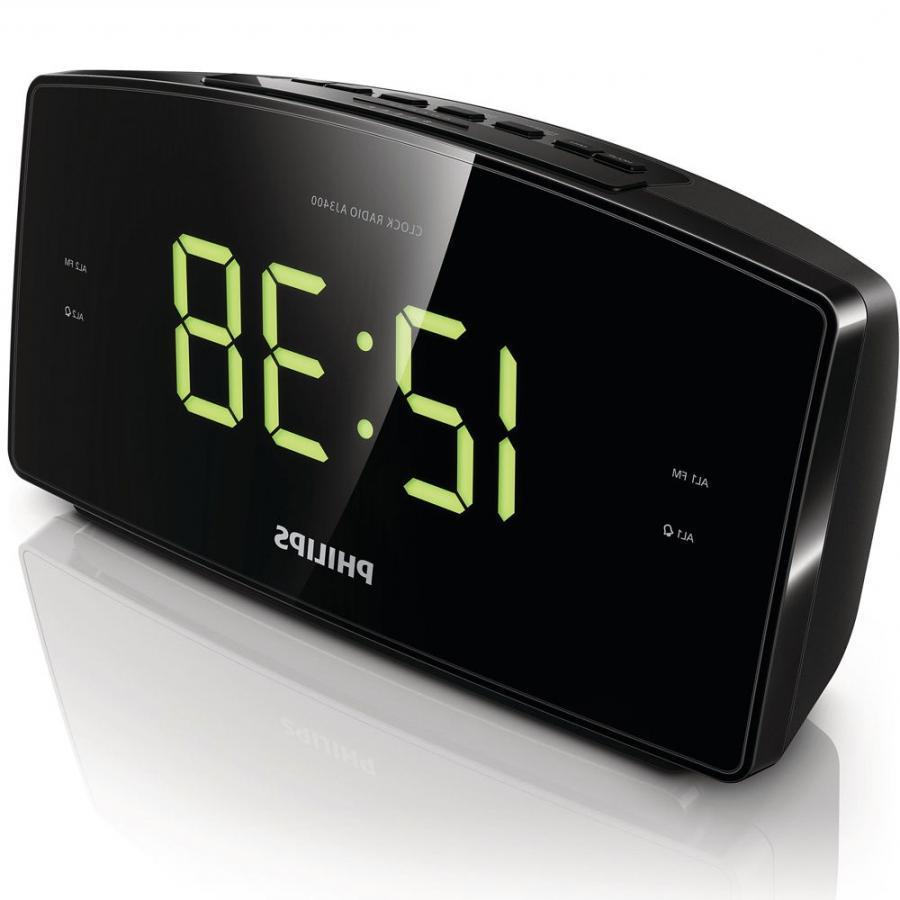 philips clock radio with digital photo display. Black Bedroom Furniture Sets. Home Design Ideas