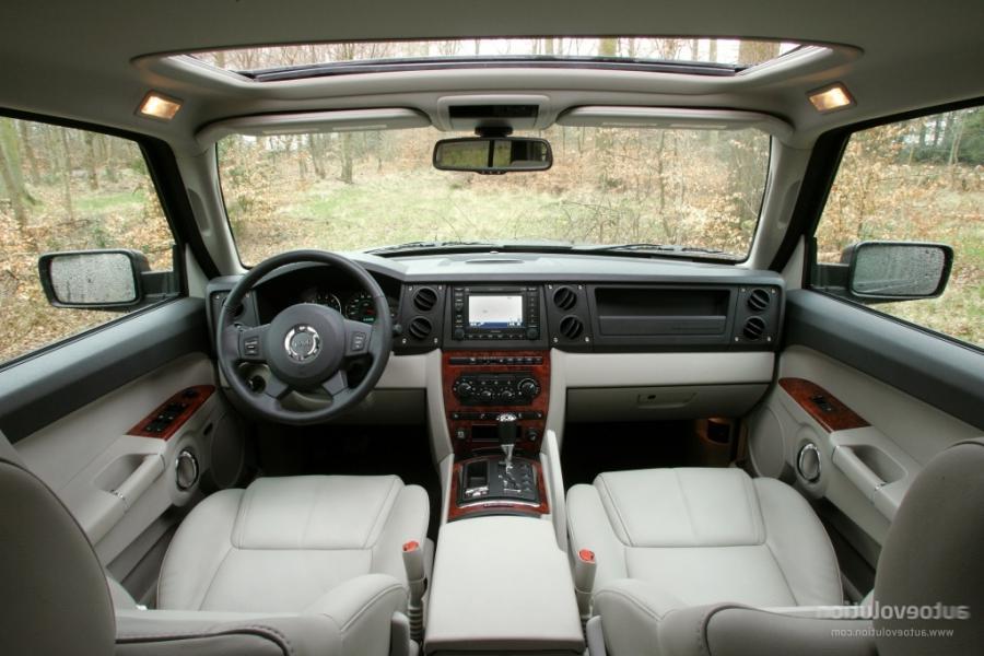 2008 Jeep Commander Interior Photos