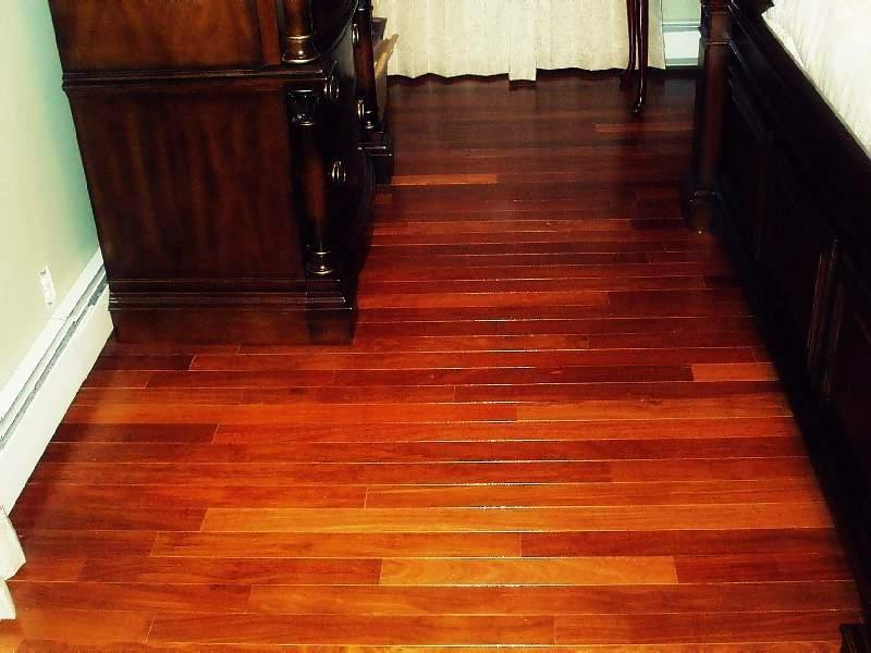 Brazilian teak floor photos