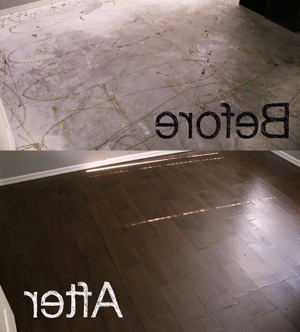 Paperbag Flooring Photos
