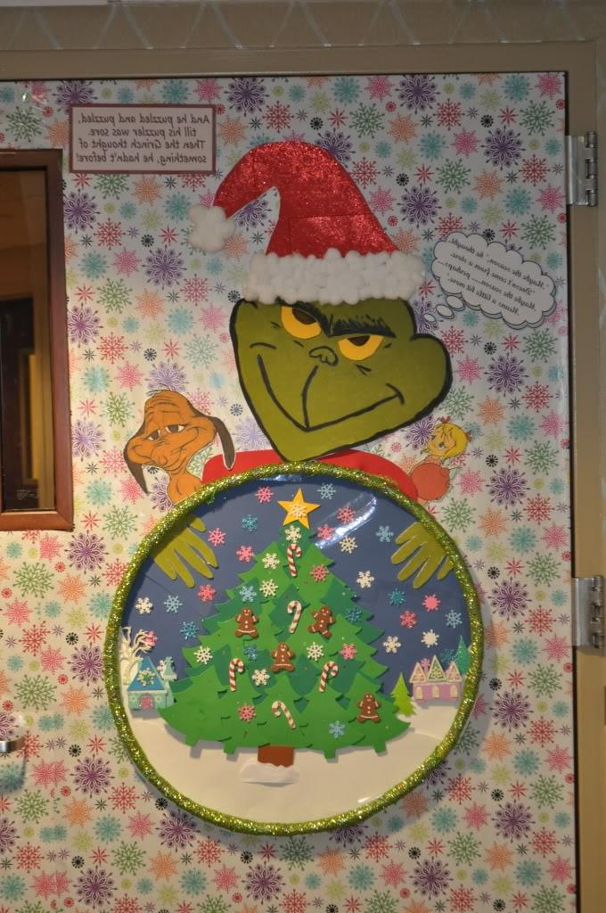 Christmas Door Contest Photos