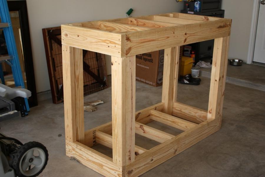 how to build a cinder block aquarium stand