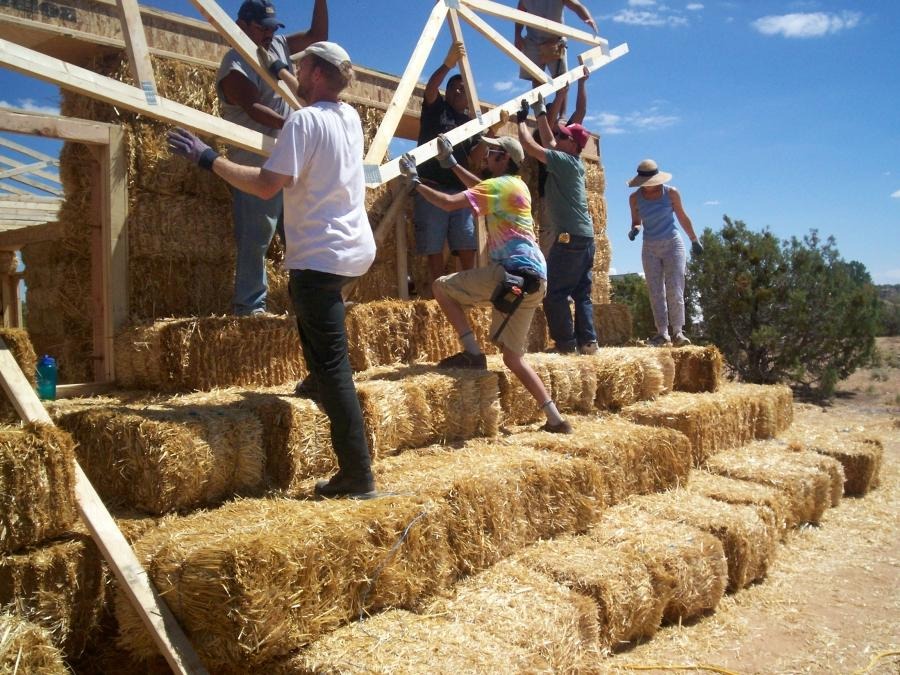 how to build a straw bale house step by step