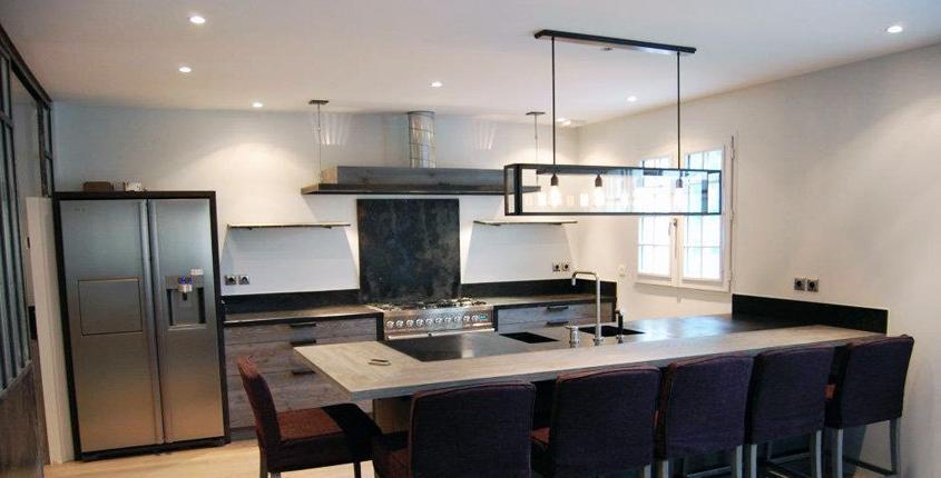 Photos decoration cuisine moderne for Les cuisines modernes