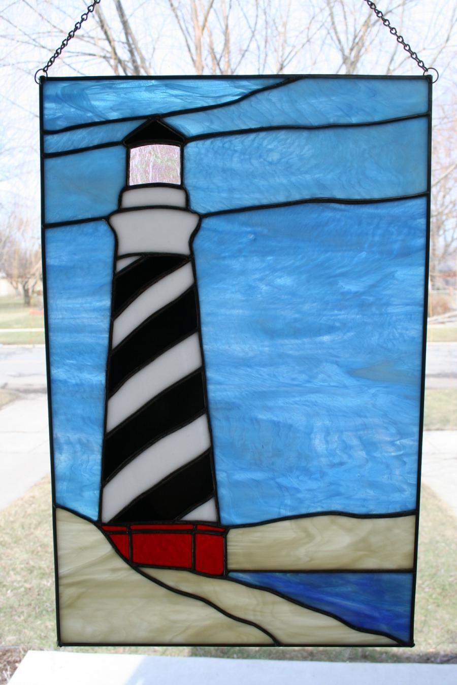 Stained Glass Lighthouse Photos