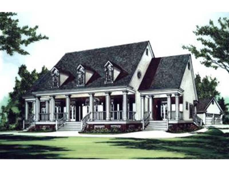 Southern Plantation House Plans Photos