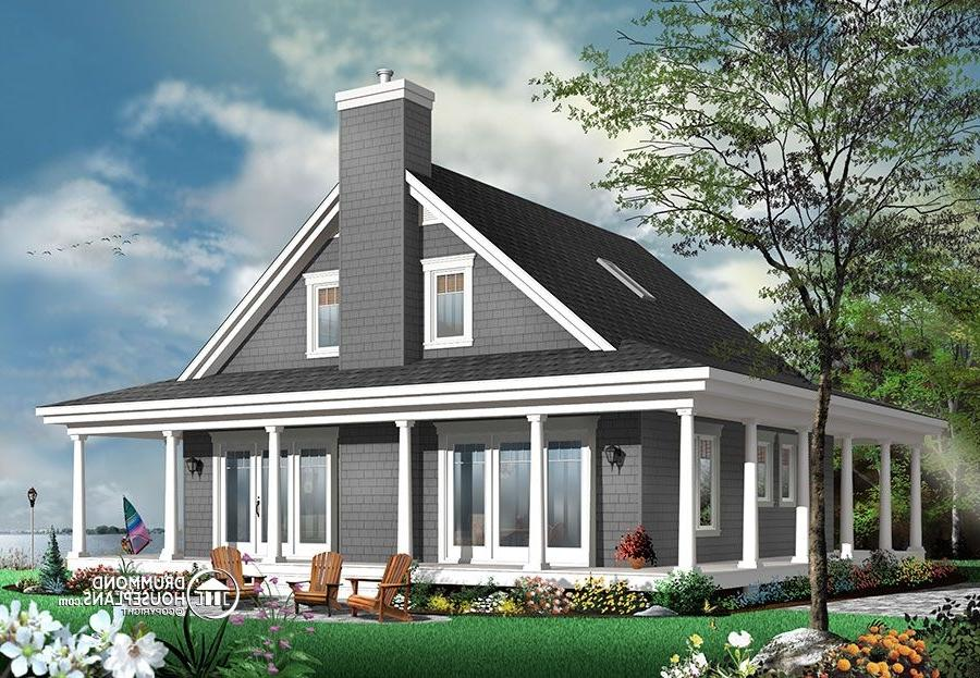 lakefront house plans with photos