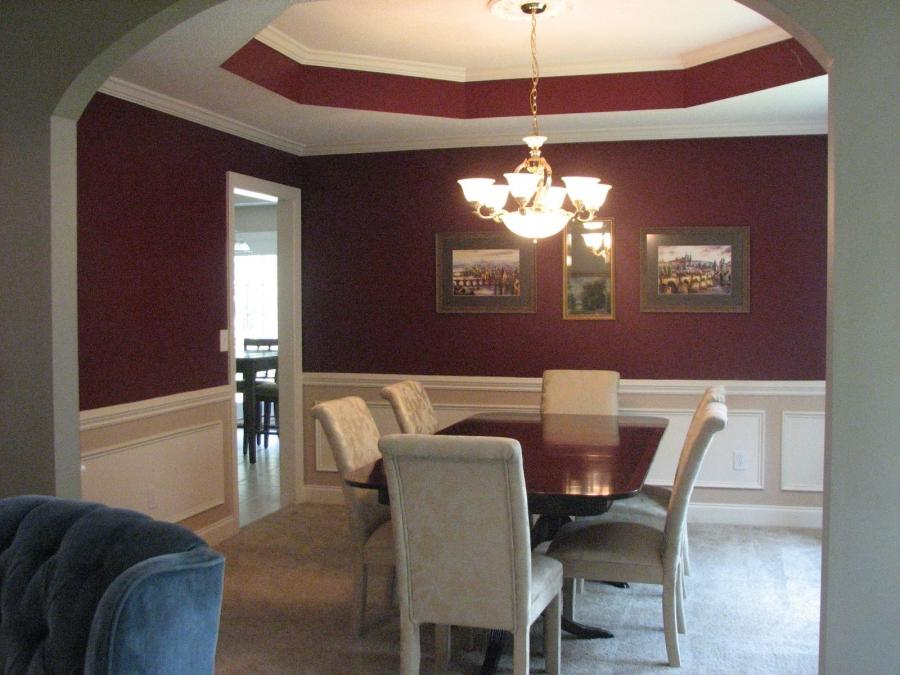 Dining room photos chair rail for Dining room decorating ideas with chair rail