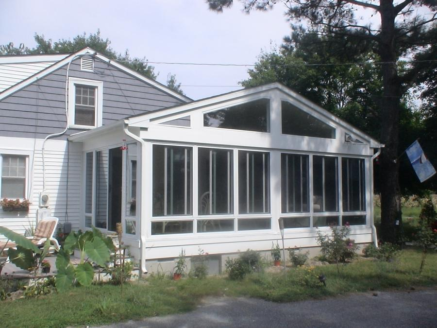 Addition idea photo room for Adding sunroom to ranch house