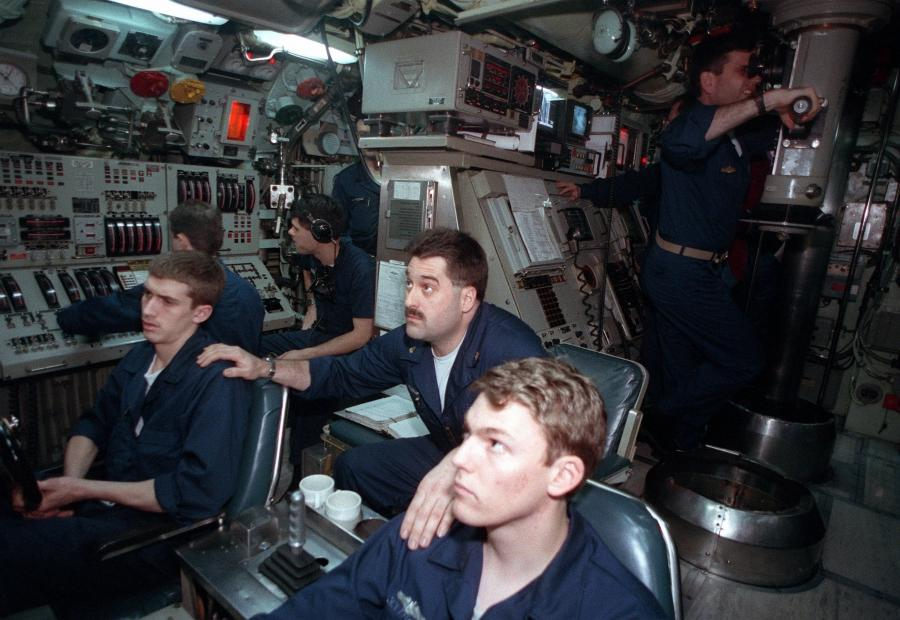 Submarine Control Room Photos