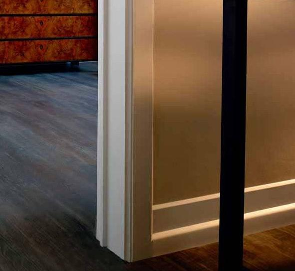 Contemporary floor moulding photos for Art deco baseboard molding