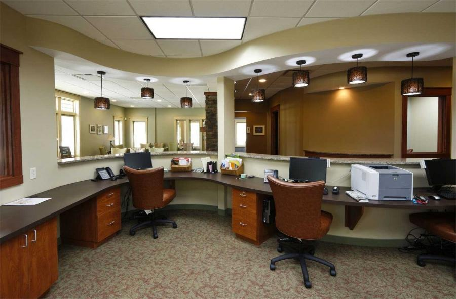 Business office interior design photos - Business office deco ...