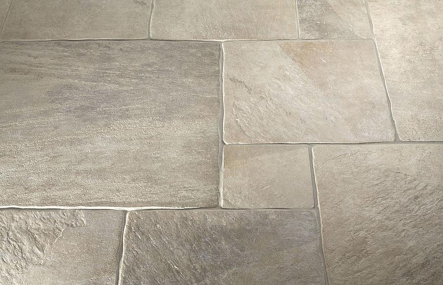 Porcelain has a higher density and is harder than ceramic tile...