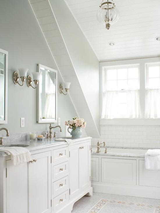 White Bathroom Inspiration listed in: