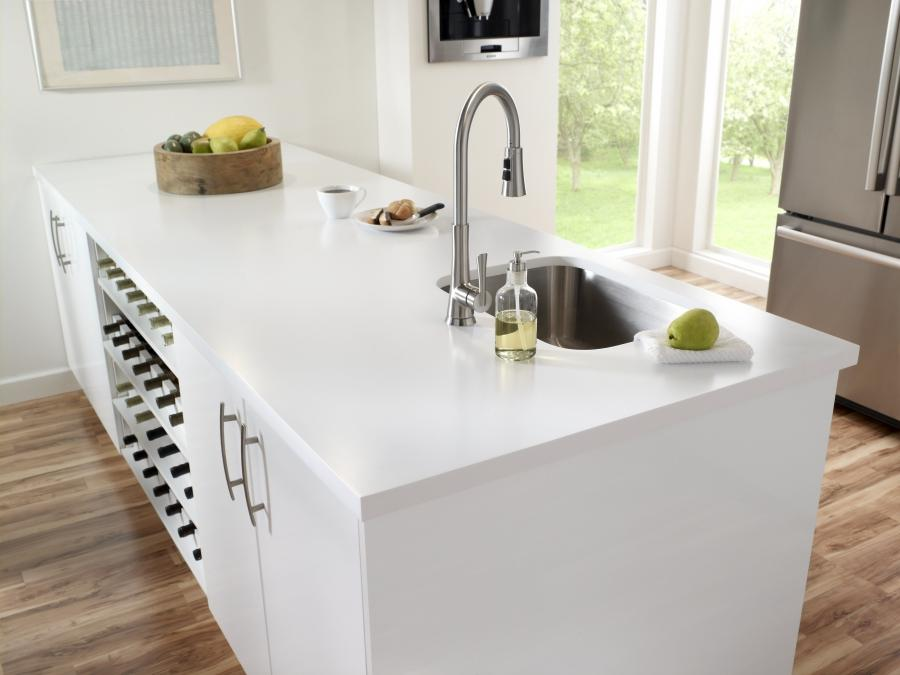 Photos solid surface kitchen countertops for Solid surface countertops prices per square foot