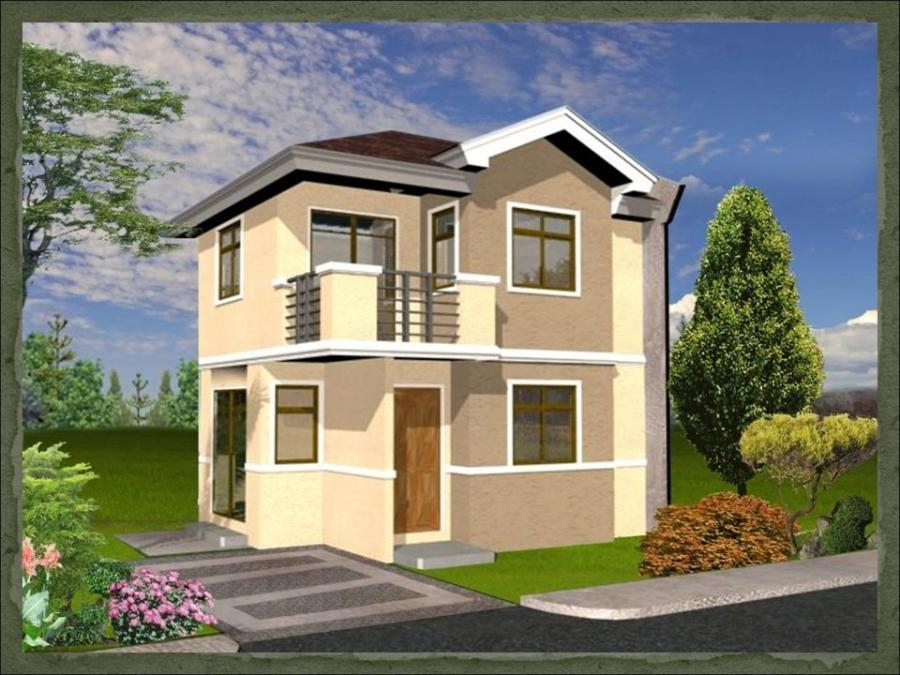 Photsos of two story house designs in the philippines for Estate home plans designs