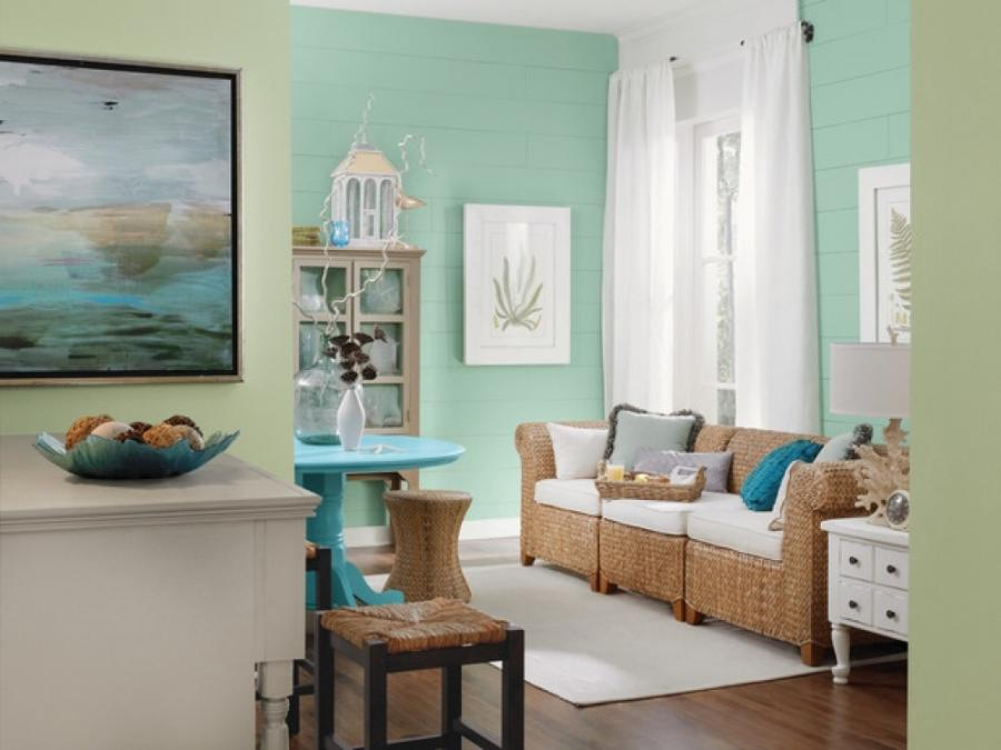Beach Themed Living Room Photos