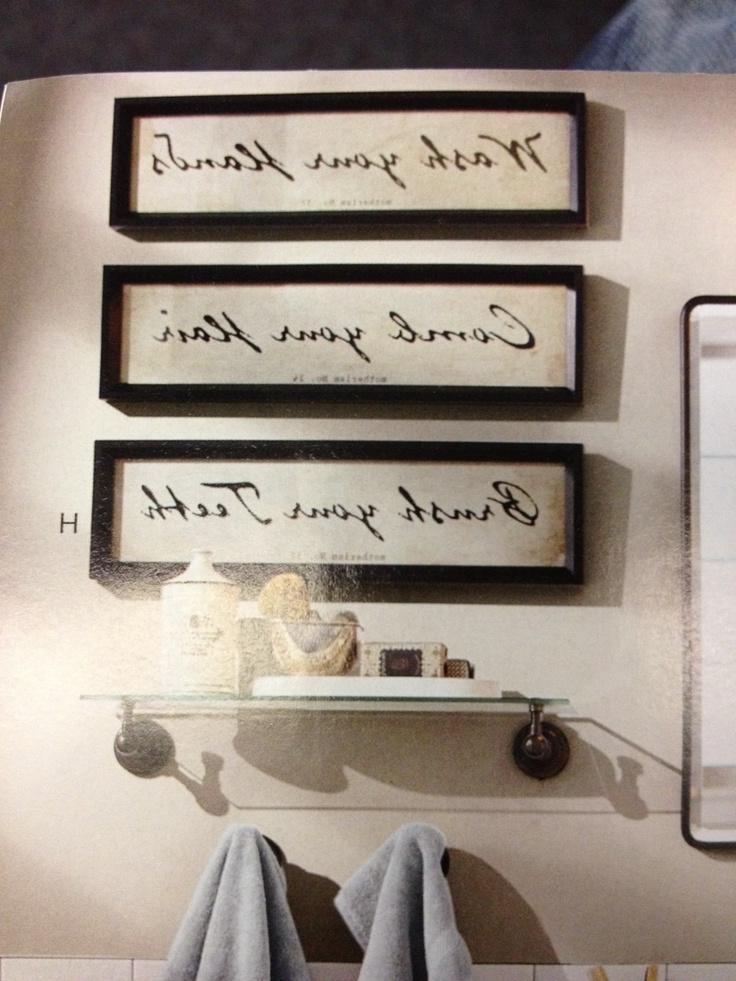 Bathroom Decor Frames : Photo frames for the bathroom