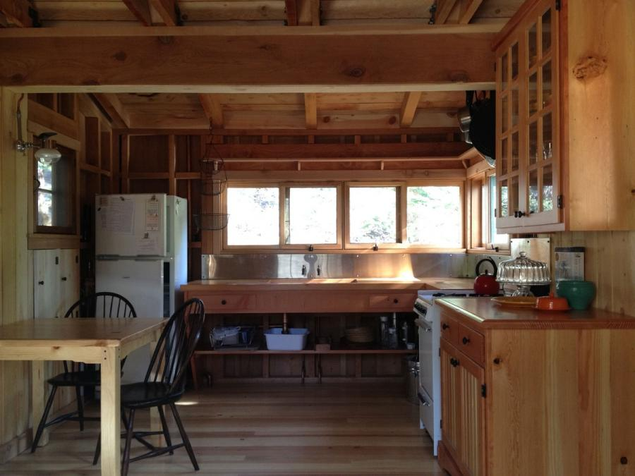 Small Cabin Kitchen Photos