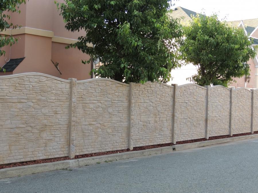 Concrete fence designs photos - Concrete fence models design ...