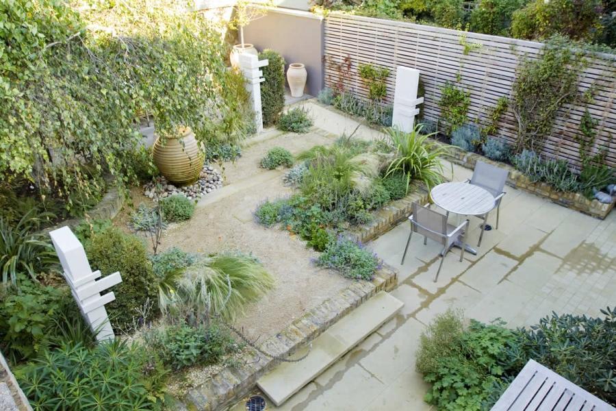 Small garden idea photos for Indoor garden design uk