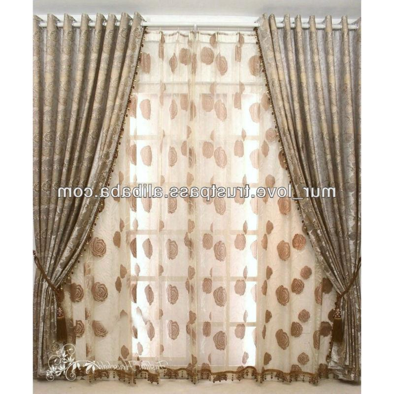 Curtains designs photos india for Window cotton design