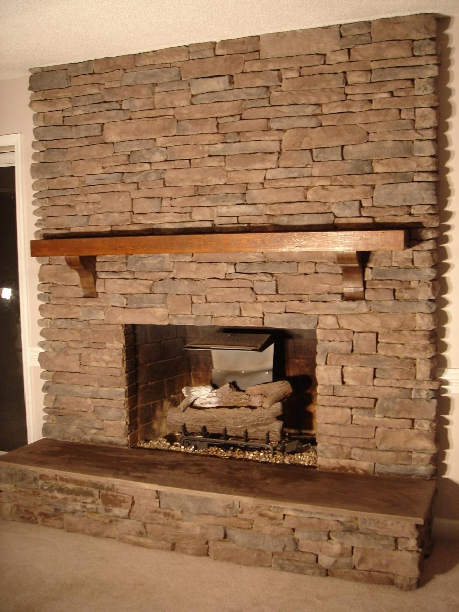 North Star Stone Stone Fireplaces Stone Exteriors: Cultured Stone Fireplace Photos