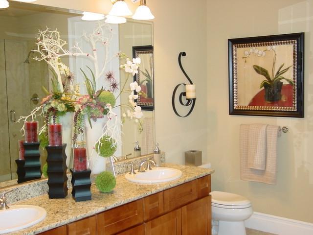 Model Home Bathroom Photos