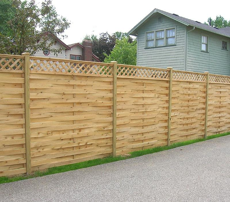 Privacy Fence Wood Lattice Photos