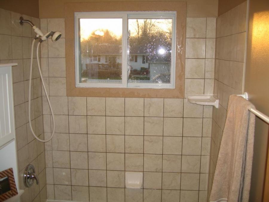 Shower Tile Trim Photos