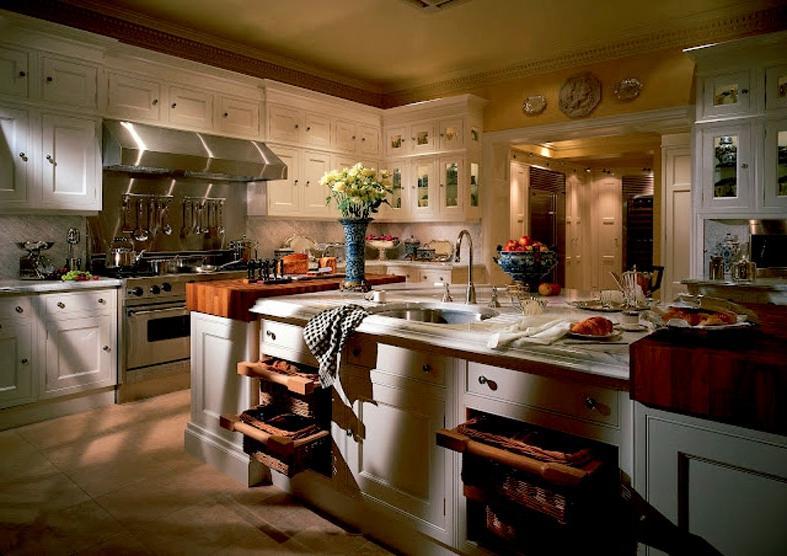 Victorian kitchens photos for Small victorian kitchen designs