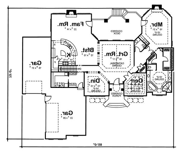 Southwestern house plans with photos for Southwest home floor plans
