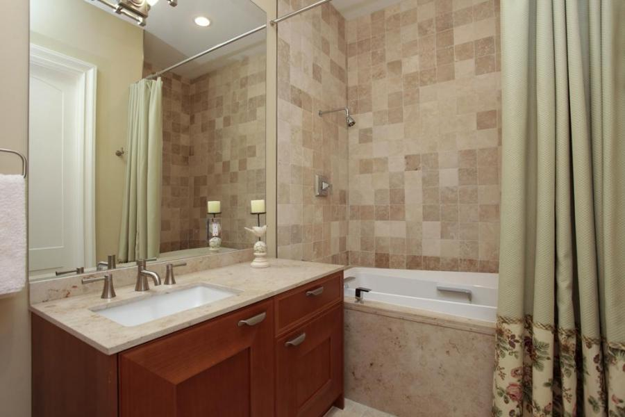Tumbled Travertine Bathroom Photos