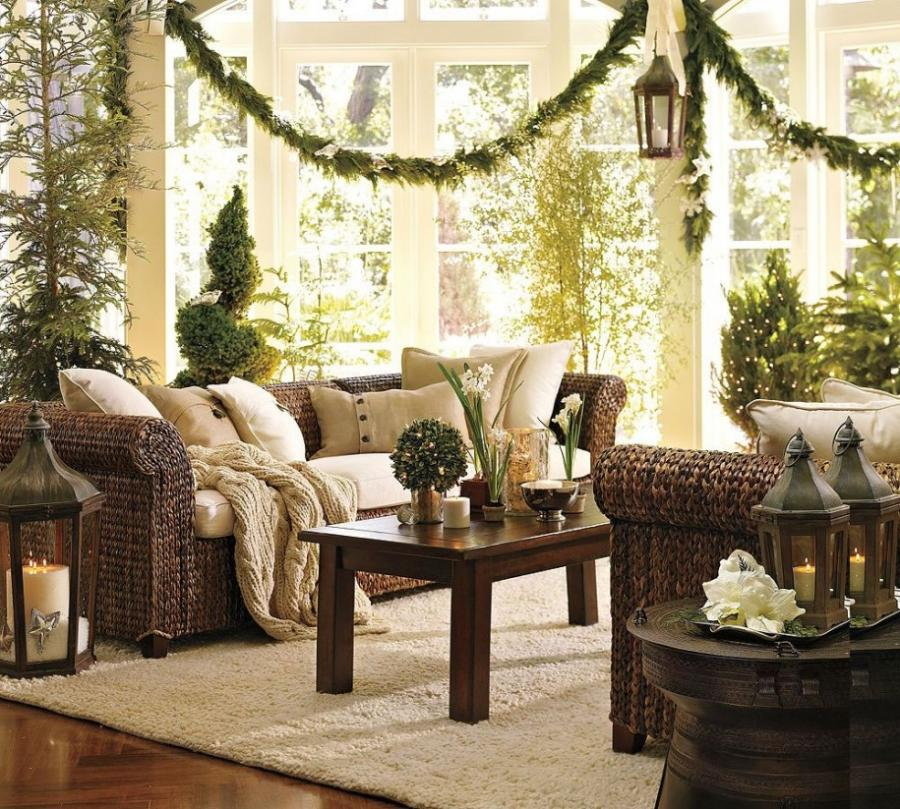 Luxurious Christmas Home Decoration With Graceful Scheme listed...