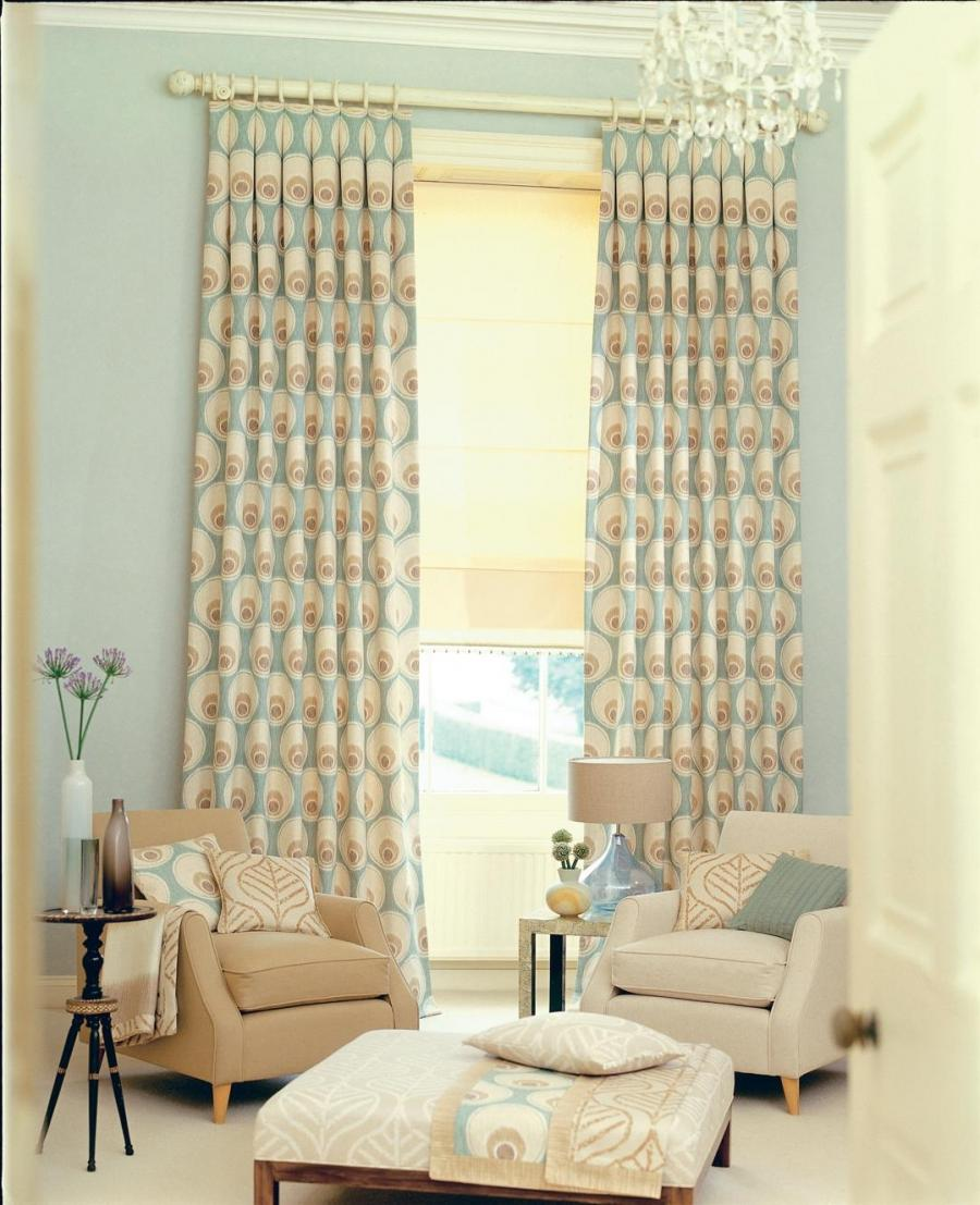 ... Magnificient Smooth Colorful Curtain And Modern Design For...