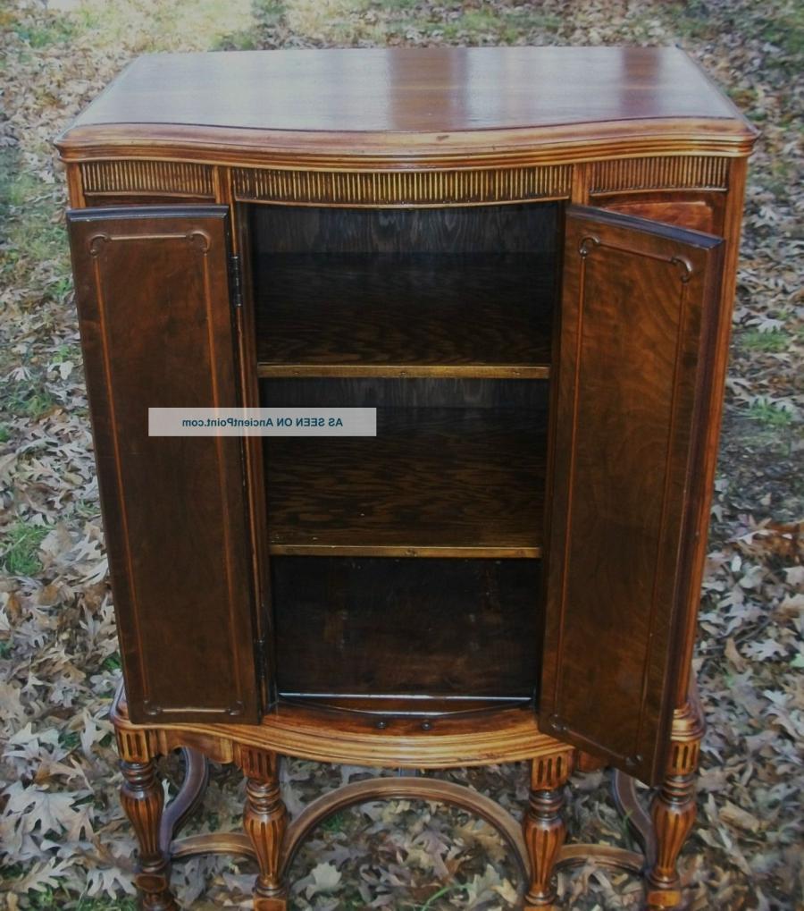 Antique Radio Cabinet Photos