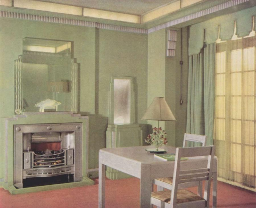 Interior design 1930s photos for 1930s interior decoration