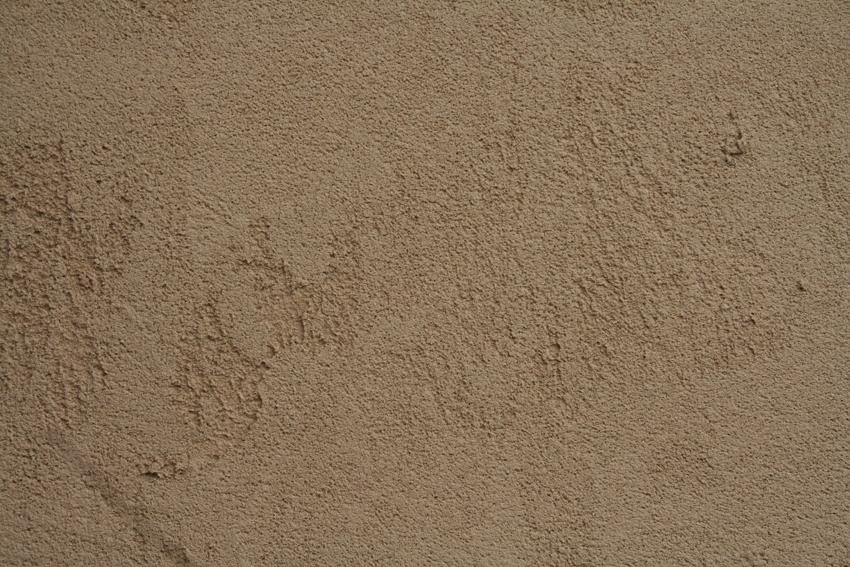 Stucco in swirl texture, Stucco with spray fine texture ...