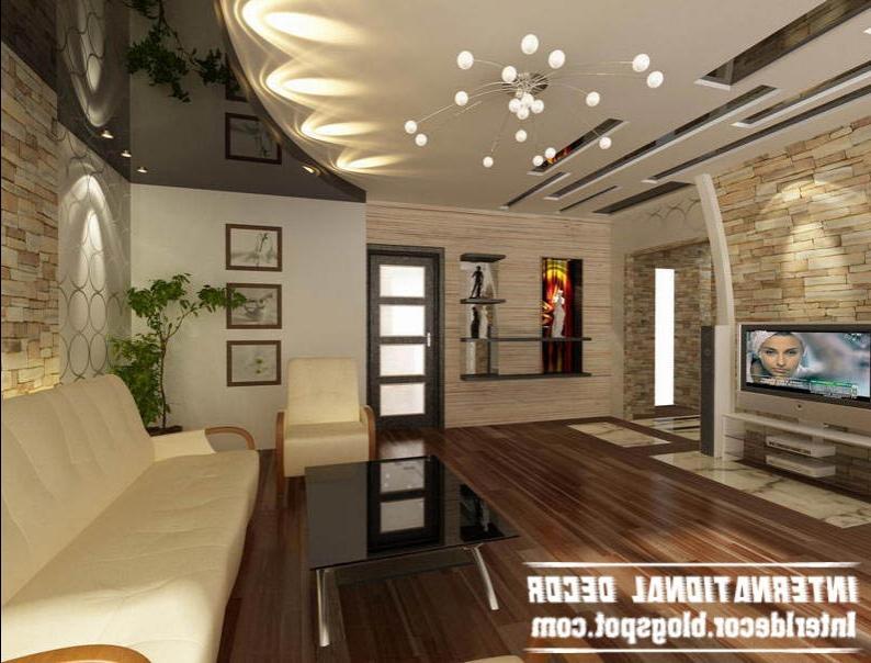 работы: дизайн интерьера гостинной низкие потолки Терновского района