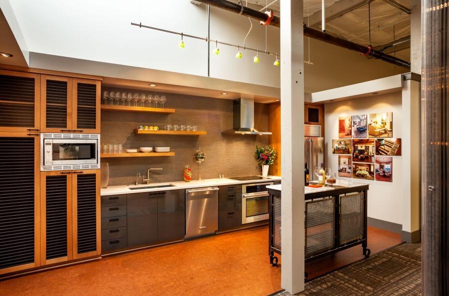 Kitchen Showroom Photography